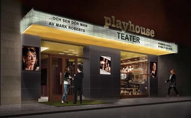 Nya Playhouse på Drottninggatan