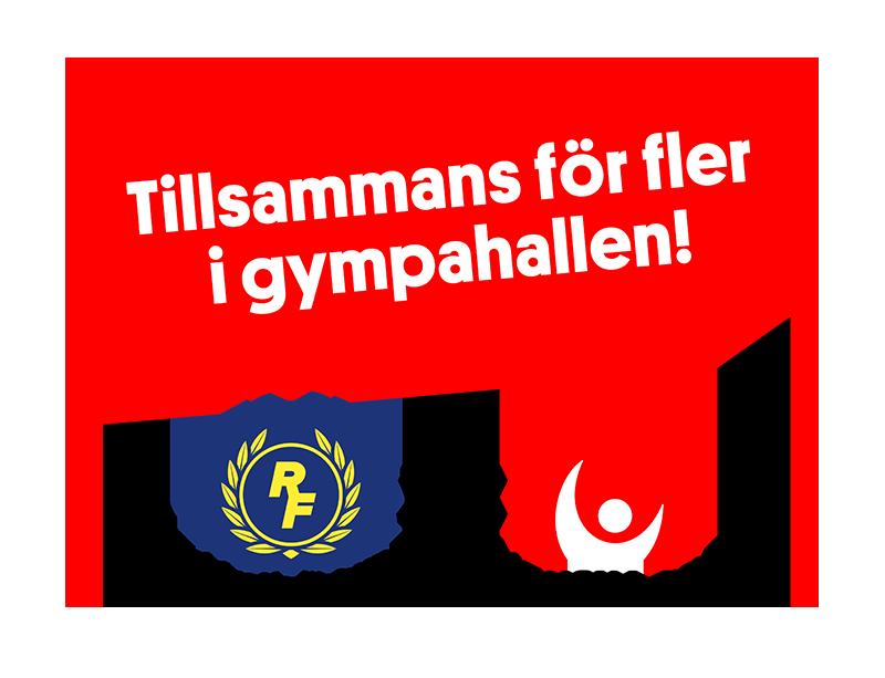 Tillsammans för fler i rörelse, Riksidrottsförbundet, Svenska Spel, Svensk Gymnastik