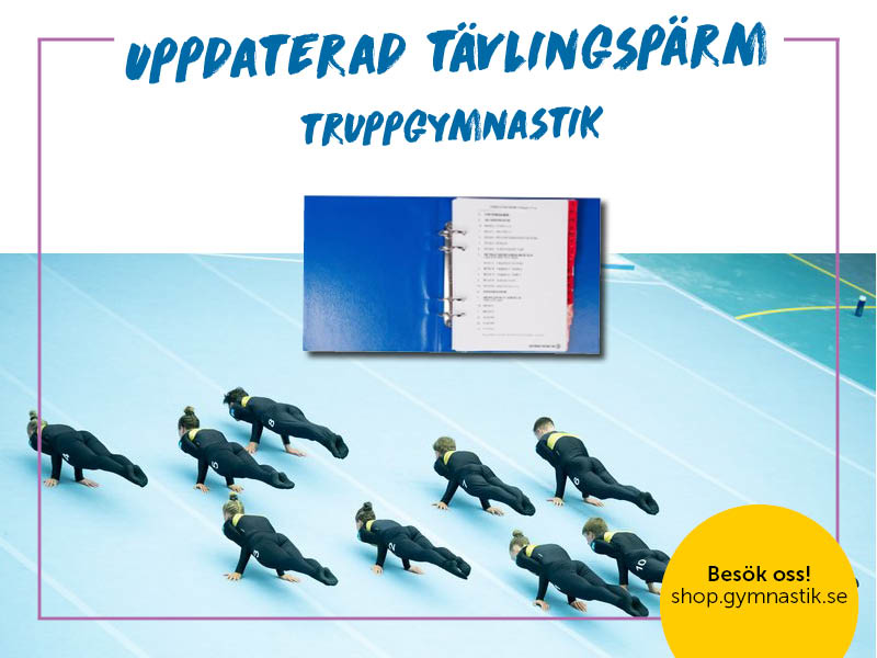 Tävlingspärm, Truppgymnastik, Svensk Gymnastik