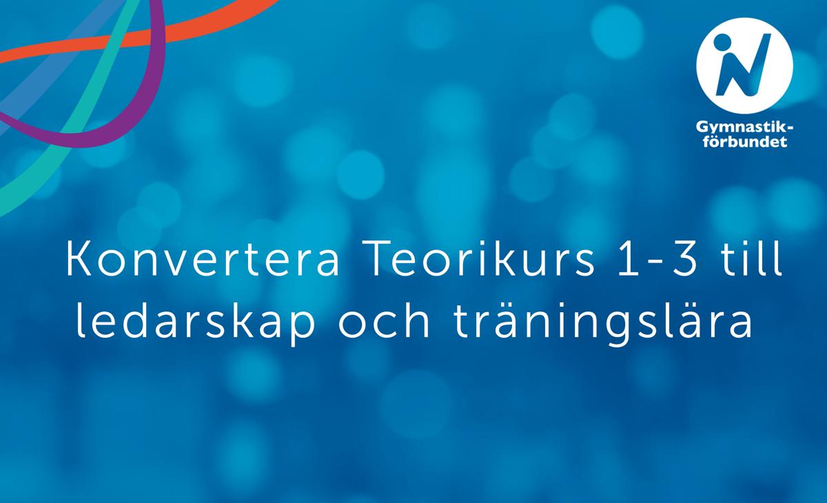 Konvertera kurs, Svensk Gymnastik