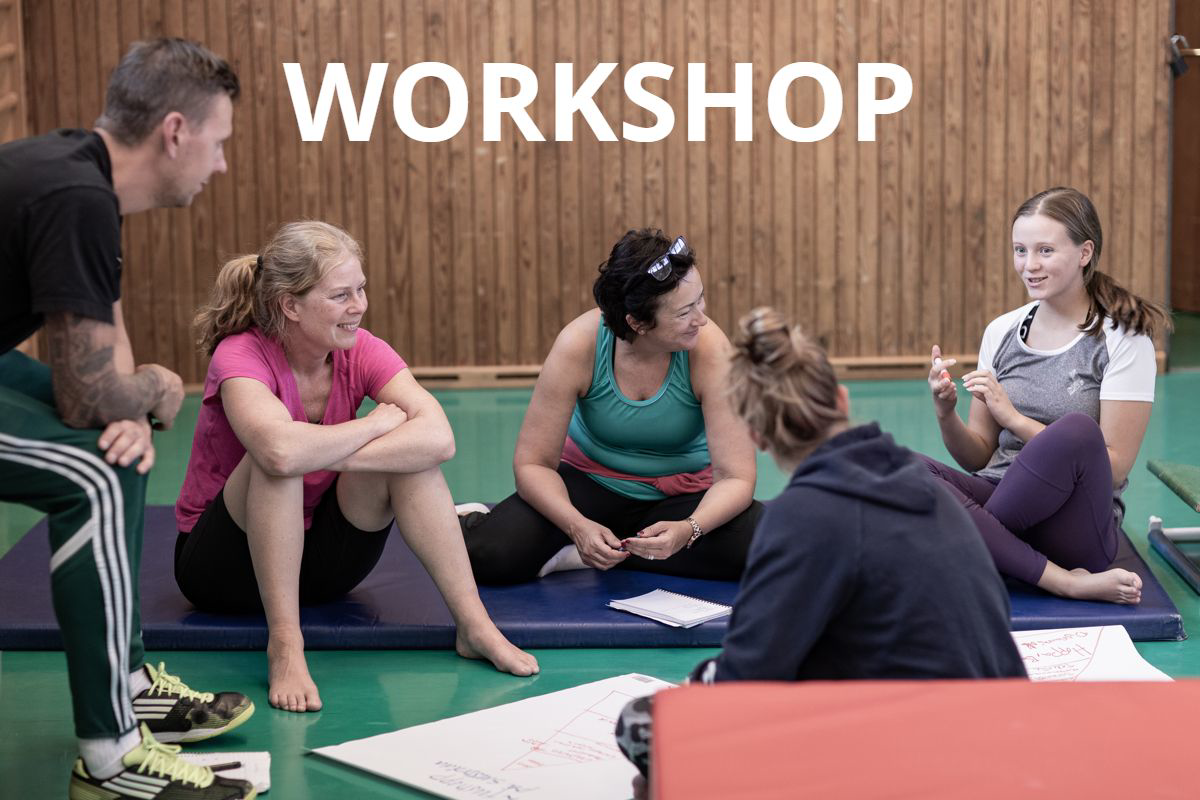Workshop, psykisk hälsa och ohälsa, Svensk Gymnastik