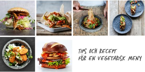 Tips och recept för en vegetarisk meny