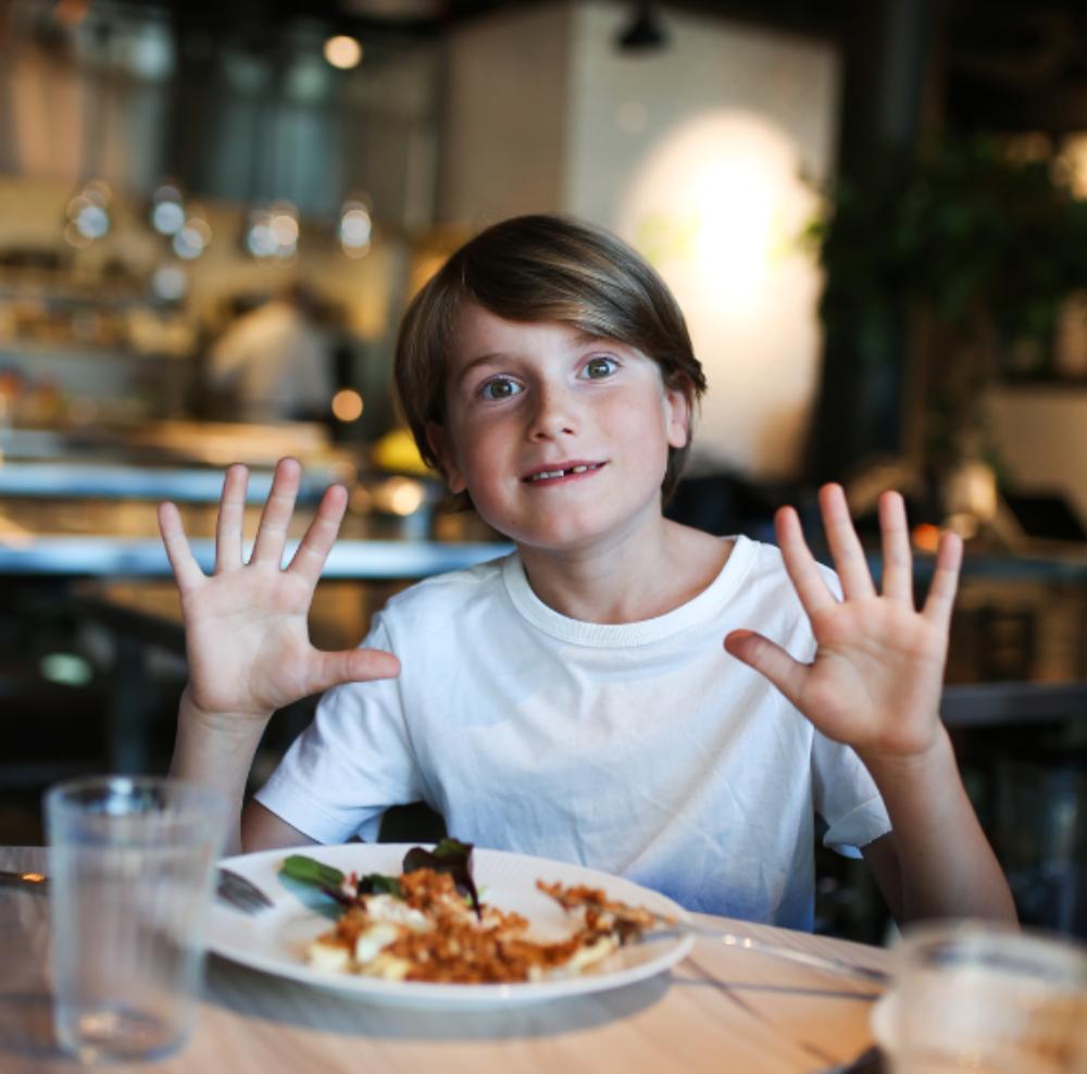 Skolbarnens vegetariska favoriträtter