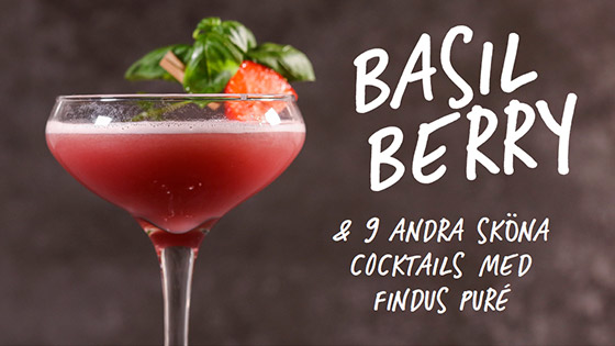 Basil Berry cocktail + 9 andra cocktails