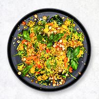 Vegetarisk couscouspytt