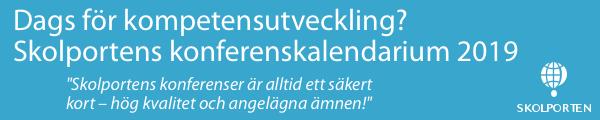 Annons Skolportens konferenskalendarium 2019